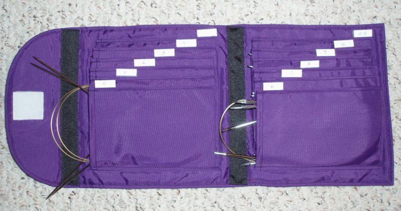 Stumbling Over Chaos :: Info on my circular knitting needle case